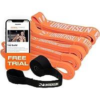 Undersun Fitness Resistensband från James Grage träningsband för hela kroppen, perfekt för styrka, kraftlyftning, pull…