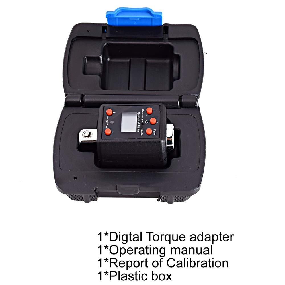 Torque Wrench Adapter 1.5-1000nm High Professional Precise Electronic Torquemeter Universal LCD Display Micro Practical Drive Digital Adjustable