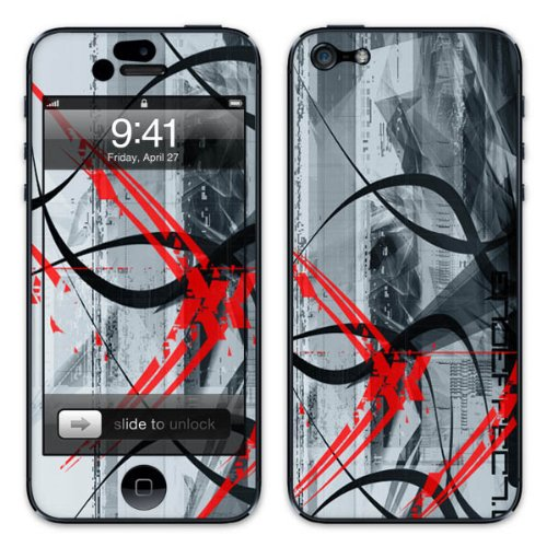 Diabloskinz B0081-0034-0019 Vinyl Skin für Apple iPhone 5/5S Losing Color