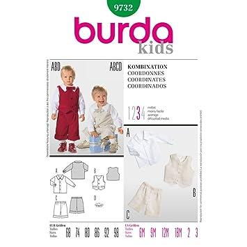 Burda Schnittmuster 9732 Kombi Gr. 68-98: Amazon.de: Küche & Haushalt