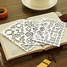3 In 1 Portable Lace Metal Templates Set for Drawing Painting Scrapbooking (H1 H2 H3)
