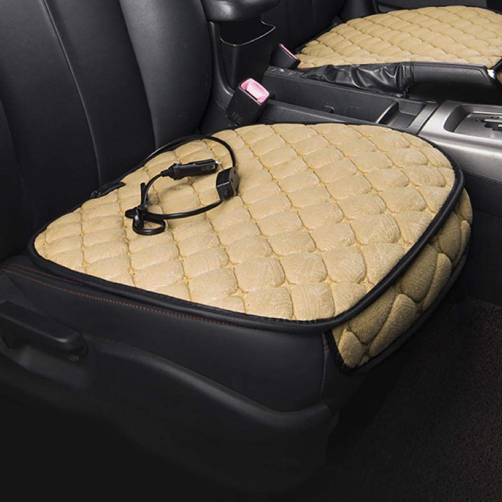 Car Heated Seat Cushion Heating Warm Pad Car Mat for Cold Weather Winter Driving