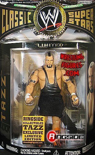 TAZZ - RINGSIDE COLLECTIBLES EMPLOYEE EXCLUSIVE 1 OF 250 CLASSIC SUPERSTARS WWE TOY WRESTLING ACTION FIGURE by Jakks by Jakks Pacific