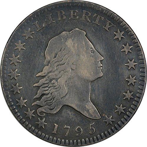 1795 Bust 2 Leaves Half