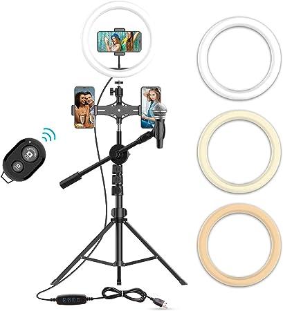 10 Selfie Ringlicht Mit 63 Stativ Ständer Kamera