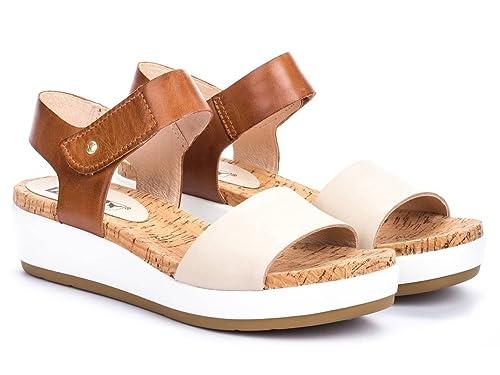 talla 40 diseño exquisito descubre las últimas tendencias Pikolinos Sandalia Cuero Para Mujer, Color Marfil, Talla: 40 ...