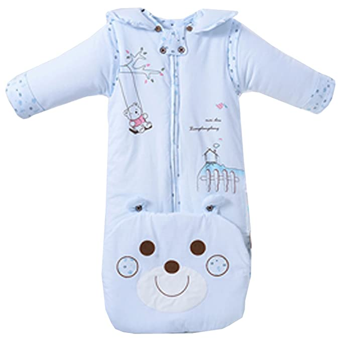 Partiss - Pijamas Enteros - para bebé niña Azul Azul Talla única: Amazon.es: Ropa y accesorios