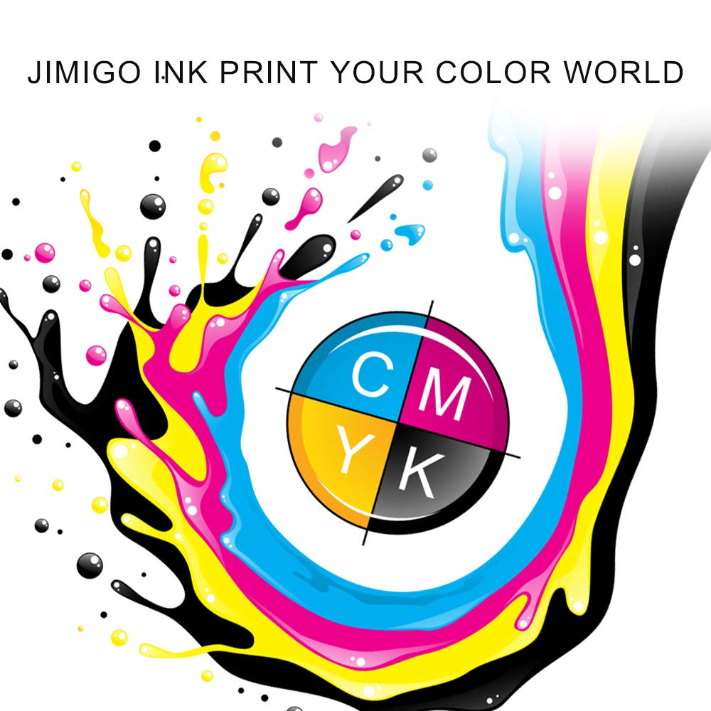 JIMIGO PG-245XL Remanufactured Ink Cartridges for Canon PG-245 Ink, High Yield 2 Black of 245 Ink, Work with Canon Pixma MX492 MX490 MG2520 MG2920 MG2420 MG2522 MG2922 MG2525 MG3022 MG3020 IP2820 by JIMIGO (Image #3)
