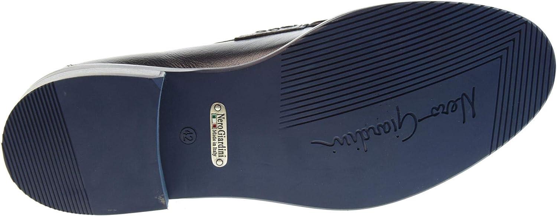 200 Size 45 Blue Nero Giardini Mens Shoes Loafers P900880U