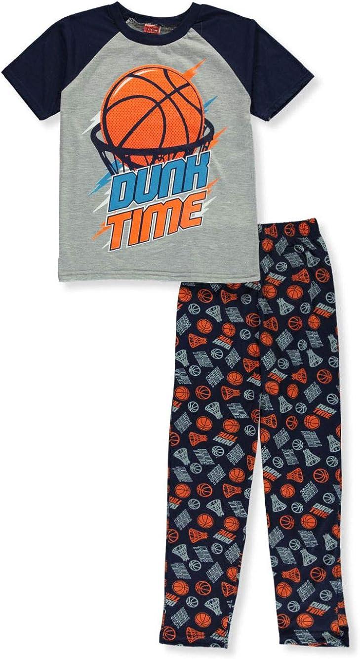 Tuff Guys Boys Basketball 2-Piece Pajamas