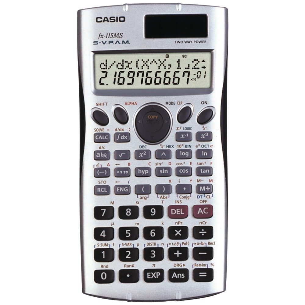 Casio Fx115 Ms Scientific Calculator With 300 Built In Parallel Wiring Speakers Functions Electronic Consumer Electronics Home Audio Theater
