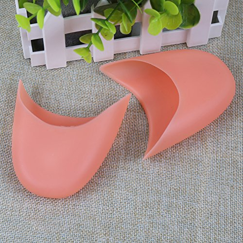 Toe Sasairy Nude 1 Nude Toe Gel Pointe for White Pink Caps Silicone Pair Shoes Pads Ballet Soft XFxBXR
