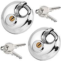 Ogquaton Mini lucchetto in lega di zinco con lucchetto a forma di cuore piccolo lucchetto per box bagagli con chiavi lucchetto per lucchetto valigia creativo e utile