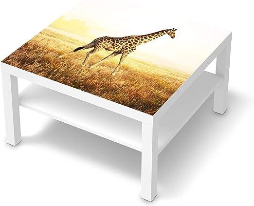 creatisto Möbel Folie passend für IKEA Lack Tisch 78x78 cm I