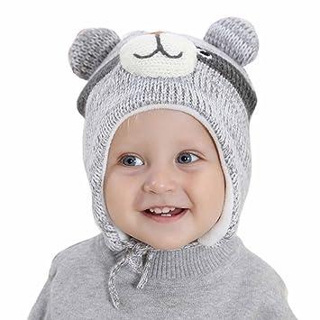 Happy Cherry Baby Ohrenwützer Mütze Kindermütze Kind Wärmehaltung ...