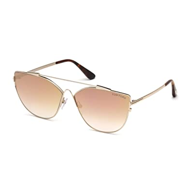 fc3a33d022 Image Unavailable. Image not available for. Color  Sunglasses Tom Ford FT  0563 Jacquelyn- 02 ...