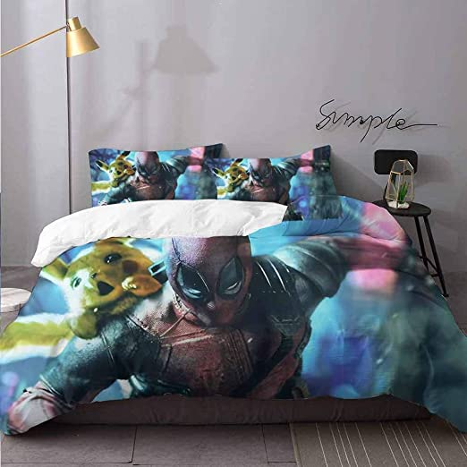 Custom Deadpool Standard Size 20 by 30 Pillow case Cover