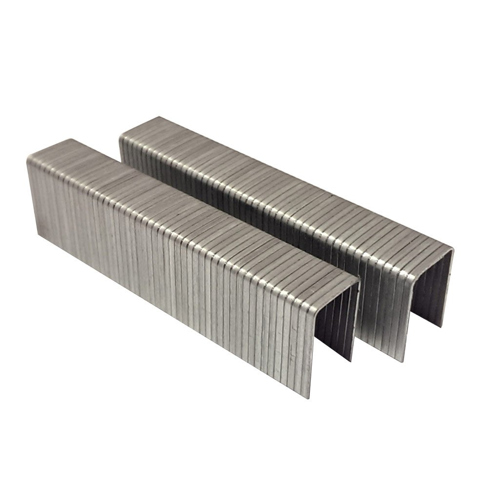 AIR LOCKER AT50-10 T50 20 Gauge 3/8 Inch Long x 3/8 Inch Crown Galvanized Fine Wire Steel Staples (1,000 per Pack)