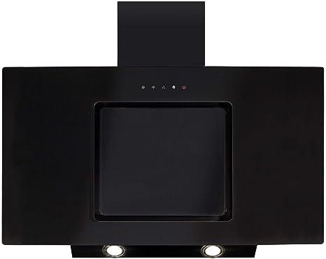 CDA eva90bl 90 cm Control táctil (cristal, en ángulo negro chimenea cocina campana extractora: Amazon.es: Grandes electrodomésticos