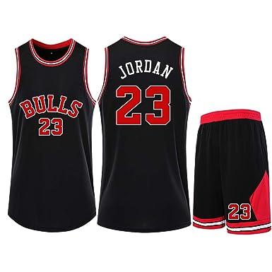 LUGLQA para Hombre Bulls Jersey Jordan 23# cómodo Traje ...