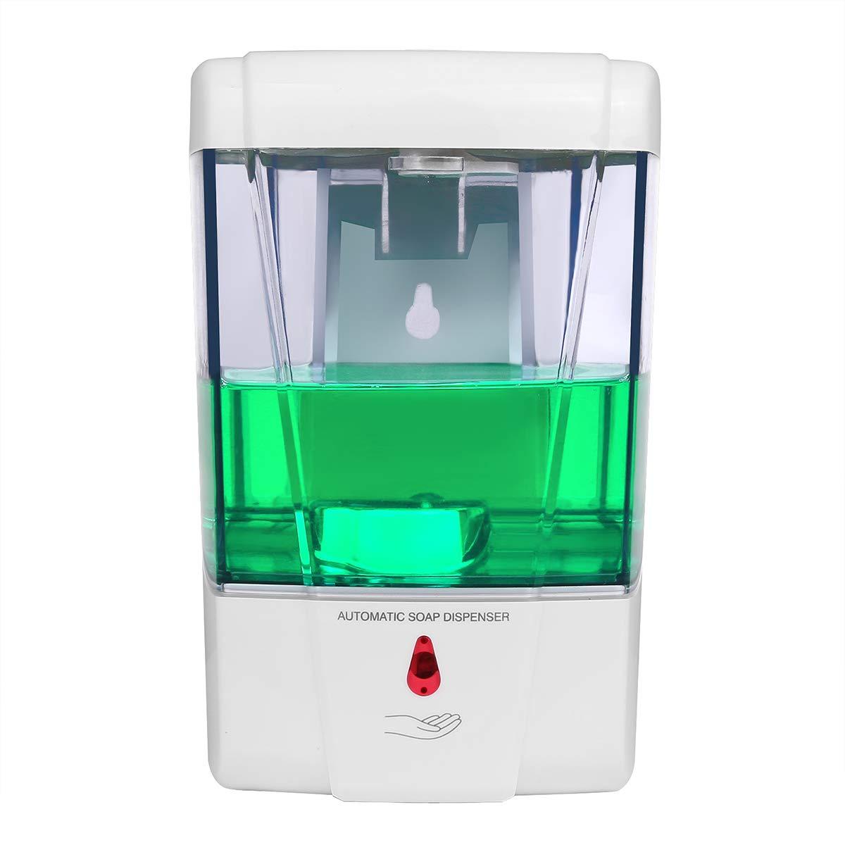 Nail Free 600ml Abs Automatic Liquid Soap Dispenser Wall Mounted Smart Sensor Shower Dispenser For Bathroom Washroom Liquid Soap Dispensers