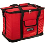 LIVIVO ® Extra Large 30 Litre 60 Can Insulated Cooler Cool Bag Collapsible Picnic Camping Festivals