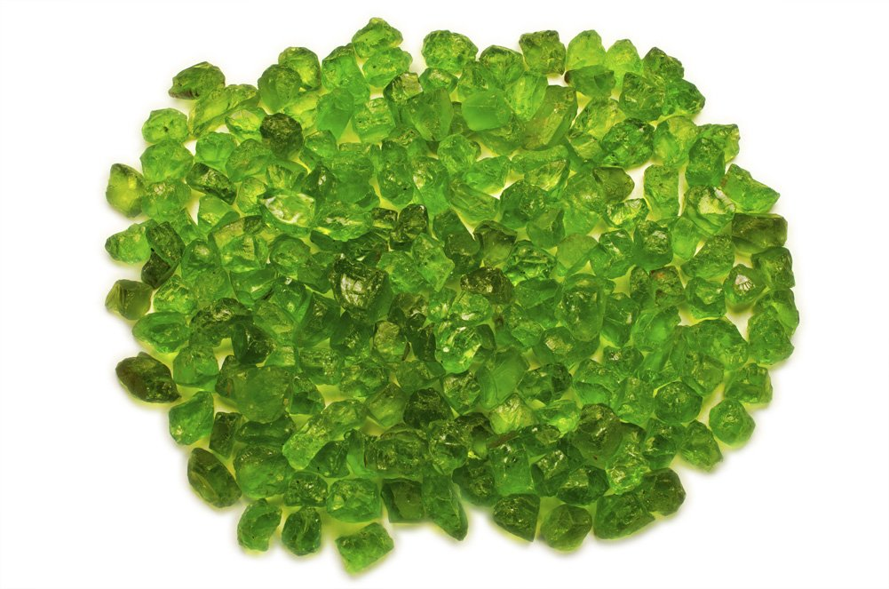 Hypnotic Gems Materials: 125 cts of Facet Grade Peridot from Arizona - Hand Selected Facet Rough for CuttingWholesale Lot