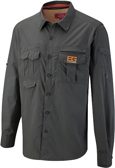 Craghoppers Grylls - Camisa de Deportes de Aventura para Hombre: Amazon.es: Ropa y accesorios