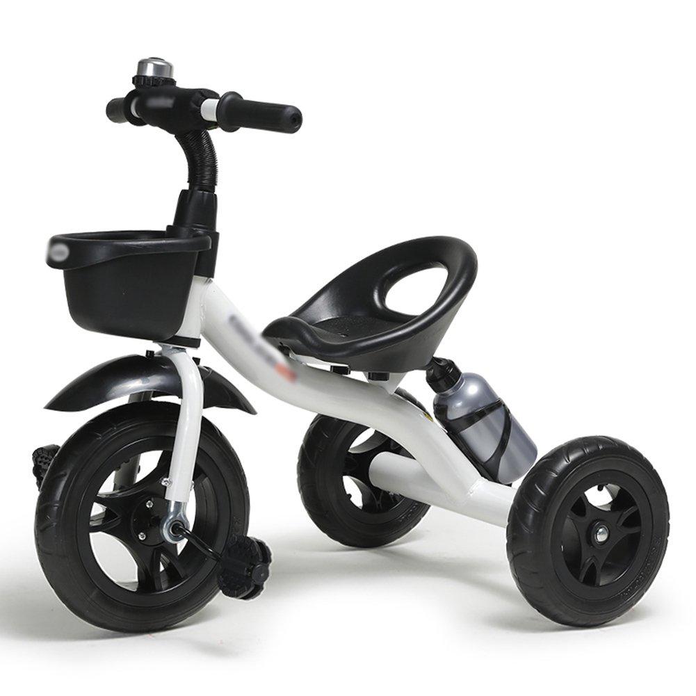 子供Trike 子供たちの三輪車の自転車2-3-6歳の自転車の自転車の赤ちゃんのキャリッジ三輪車の子供たち3ホイール ( 色 ( : : 赤 ) 色 B07C7Y3XDX 白 白, スポーツダイアリー:7c116fd0 --- itxassou.fr