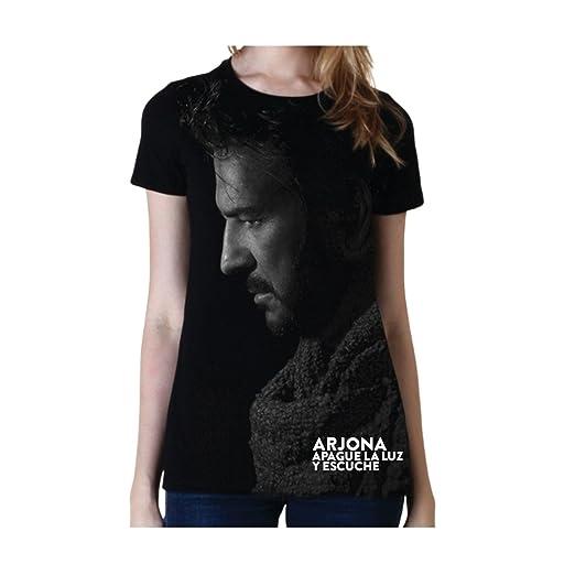 Ricardo Arjona Official Merch Womens T-Shirt MALENA Camiseta de Mujer Colección Apague la Luz