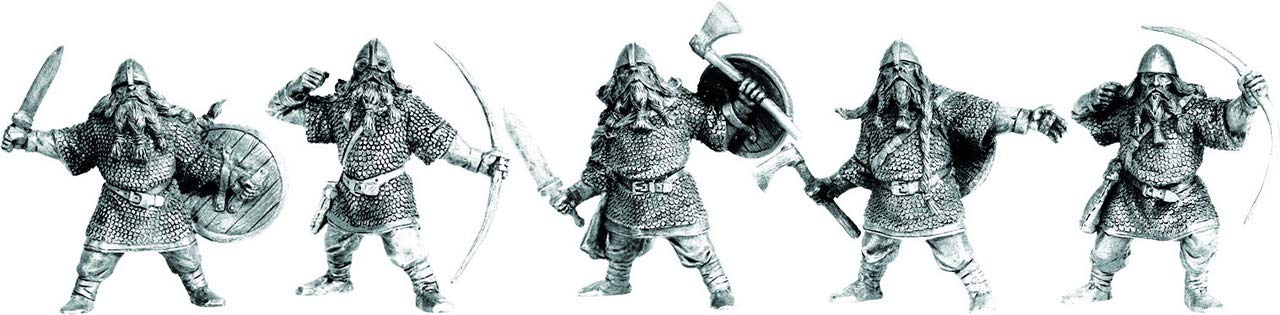 Fantasy Battles Varangians 54 mm 1//32-5 Fantasy Figures Tehnolog Russian Toy Soldiers