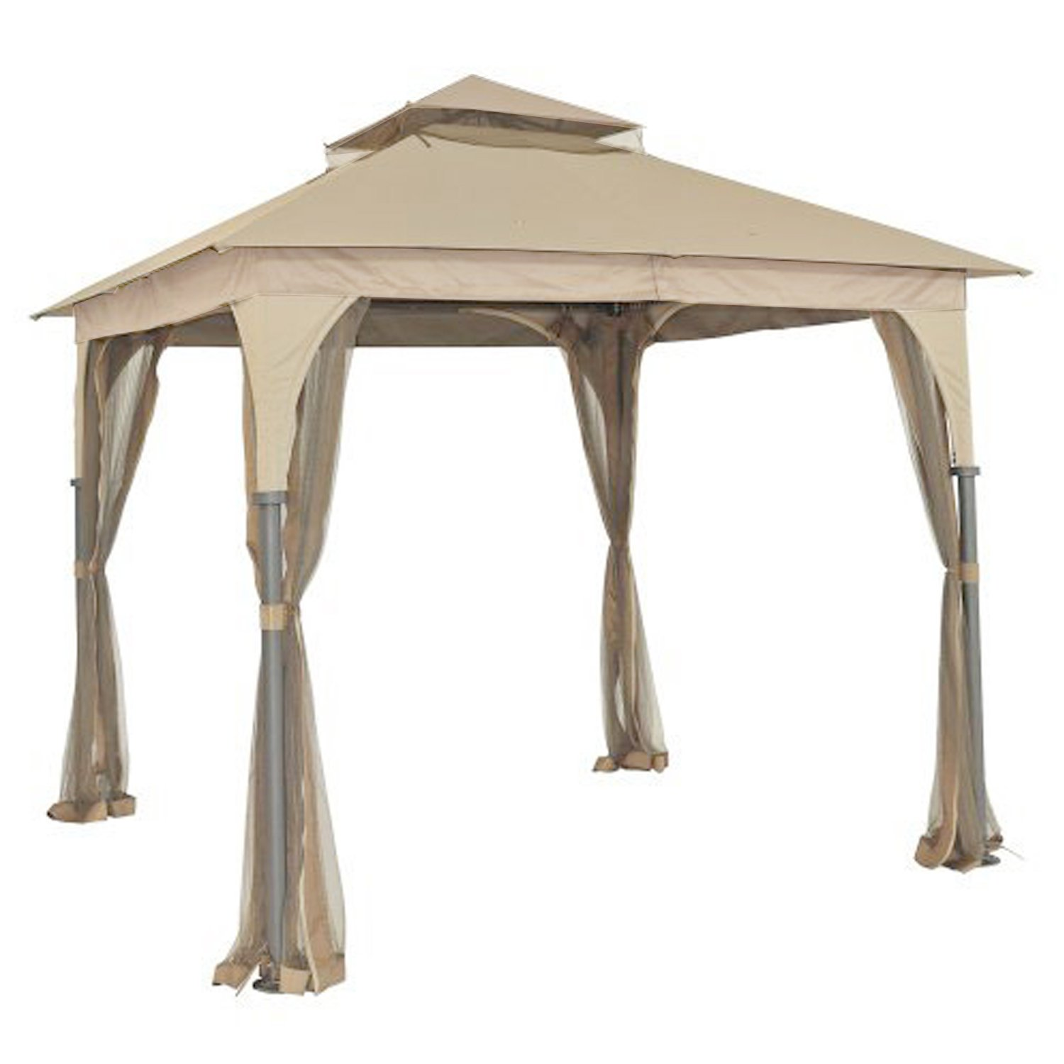 Garden Winds Replacement Canopy for L-GZ375PST-3 Gazebo - 350