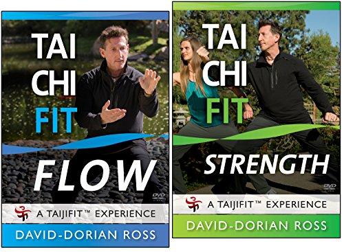 Bundle: Tai Chi Fit 2-DVD set - FLOW / STRENGTH with David-Dorian Ross -