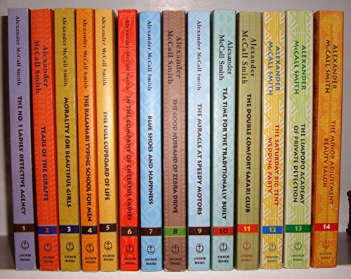Number One Ladies Detective Agency Series Set 1-8 by Alexander McCall Smith (First Lady Detective Agency)
