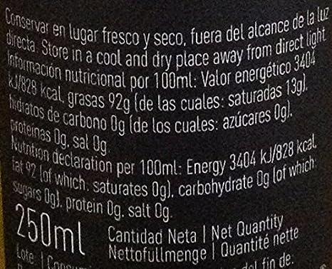 La Chinata, Aceite de oliva (Sabor guindilla) - 2 de 250 ml. (Total 500 ml.): Amazon.es: Alimentación y bebidas