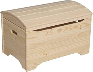 """product image for Little Colorado Sanded and Unfinished Treasure Chest - 29"""" W x 19"""" D x 18"""" H"""
