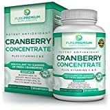 Premium Cranberry Concentrate Pills by PurePremium Supplements with Vitamins C & E | Bladder & Urinary Tract Health | Promote Healthy Immune System | Pure & Potent Cranberry Extract | 60 Softgels Review