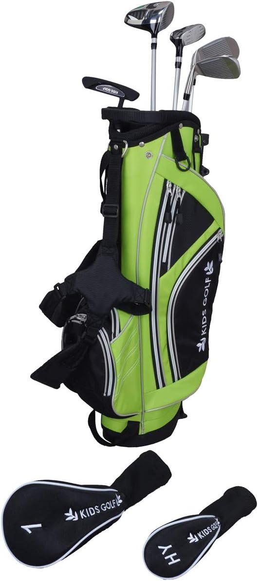 キッズゴルフ KIDS GOLF クラブセット GDO限定 クラブセット(5本セット)100-120cmサイズ ジュニア  Jr ライトグリーン