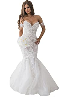 f62392aa2471 alilith.Z Sexy Sweetheart Bodycon Wedding Dresses for Bride Beaded ...