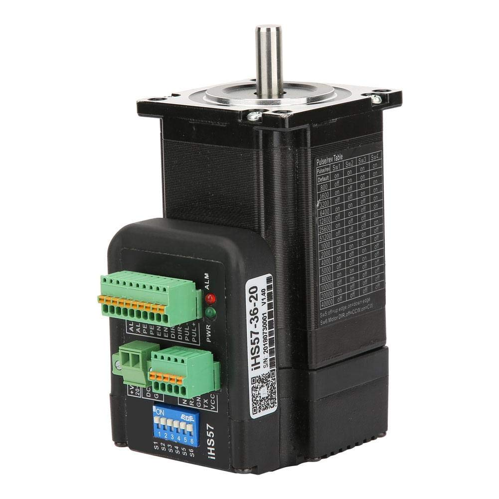 DC36V 4A Stepper Motor,Integrated Digital Open Loop Stepping Motor for Automation Equipment iHS57-36-20