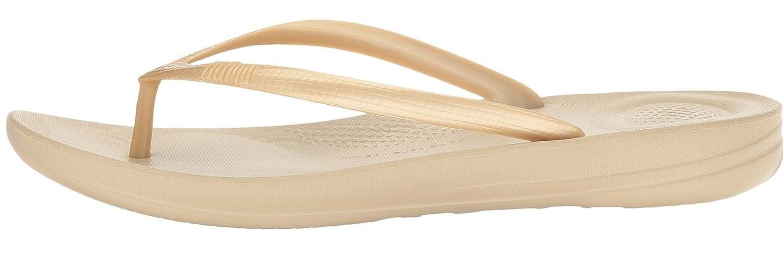 1977fcfe7 Fitflop Iqushion Ergonomic Gold Womens Beach Flip Flops  Amazon.co.uk   Shoes   Bags