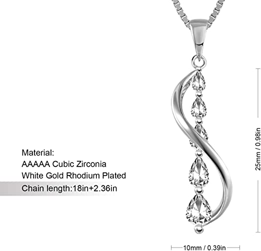 Amazon Coupon Code for 925 Sterling Silver Pendant Necklace