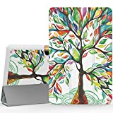 """MoKo Acer Tab 10 A3-A40 Case, Ultra Compact Protection Premium Slim Lightweight Smart Shell 3-Folding Stand Cover Case for 10.1"""" Acer Iconia Tab 10 A3-A40 Andriod Tablet 2016 Release, Lucky Tree"""