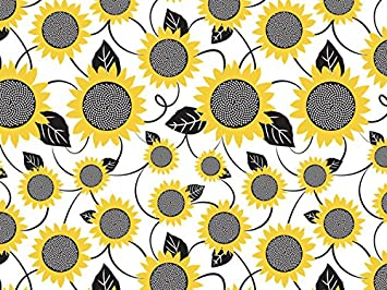 """Sunflowers Tissue Paper 20x30/"""" 240 Sheet Pack Gift Wrap Made USA"""