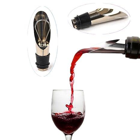 Acero inoxidable vertedor de vino tapón vertedor de vino (Drop Stop/vertedor de bebidas