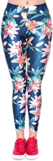 BIRAN Polainas De Las Mujeres 3D Digital Floral Skinny Deportes Bastante Tight Stretch Pencil Pantalones Entrenamiento Fitness Pantalones Deportivos