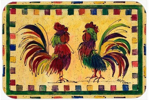 Carolines Treasures 8062-JCMT Rooster Kitchen or Bath Mat 24x36 8062 multicolor Caroline/'s Treasures 8062-JCMT Rooster Kitchen or Bath Mat 24x36 8062 24H X 36W