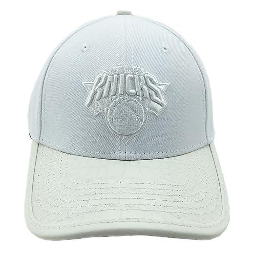 factory authentic e4d5b aa6c3 ebay pro standard mens nba new york knicks logo strapback hat white e13a1  eccbc