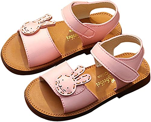 Cwait Girls Flower Summer Beach Water Jelly Sandals Cute Toddler Sandals