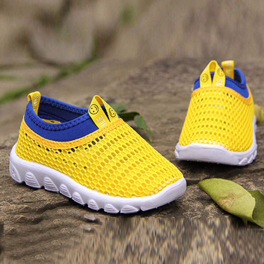 SIN vimklo Sports Shoes,Infant Kids Mesh Candy Color Sneakers Casual Shoes